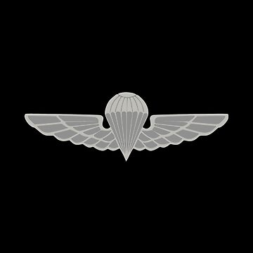 Malaysian Armed Forces Basic Parachutist Badge by wordwidesymbols