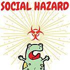 Froggy The Social Hazard by RollingStore .