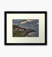Cefalu Coast Framed Print