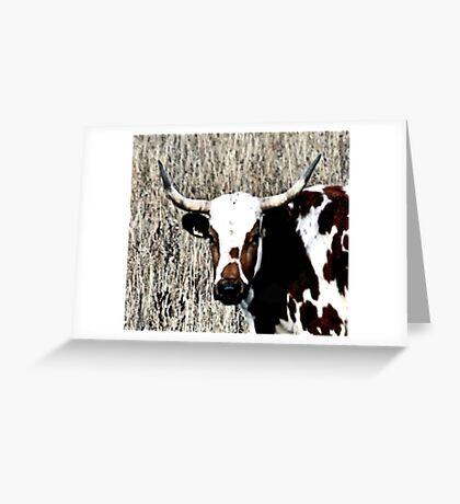 Like My Horns Greeting Card