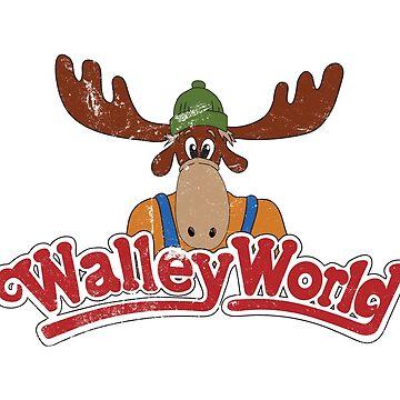 Walley World - Distressed Logo by Purakushi