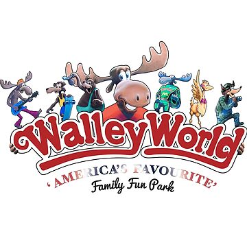 Walley World - America's Favourite Curved Logo Variant by Purakushi