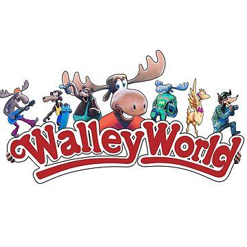 Walley World - Full Character Logo by Purakushi