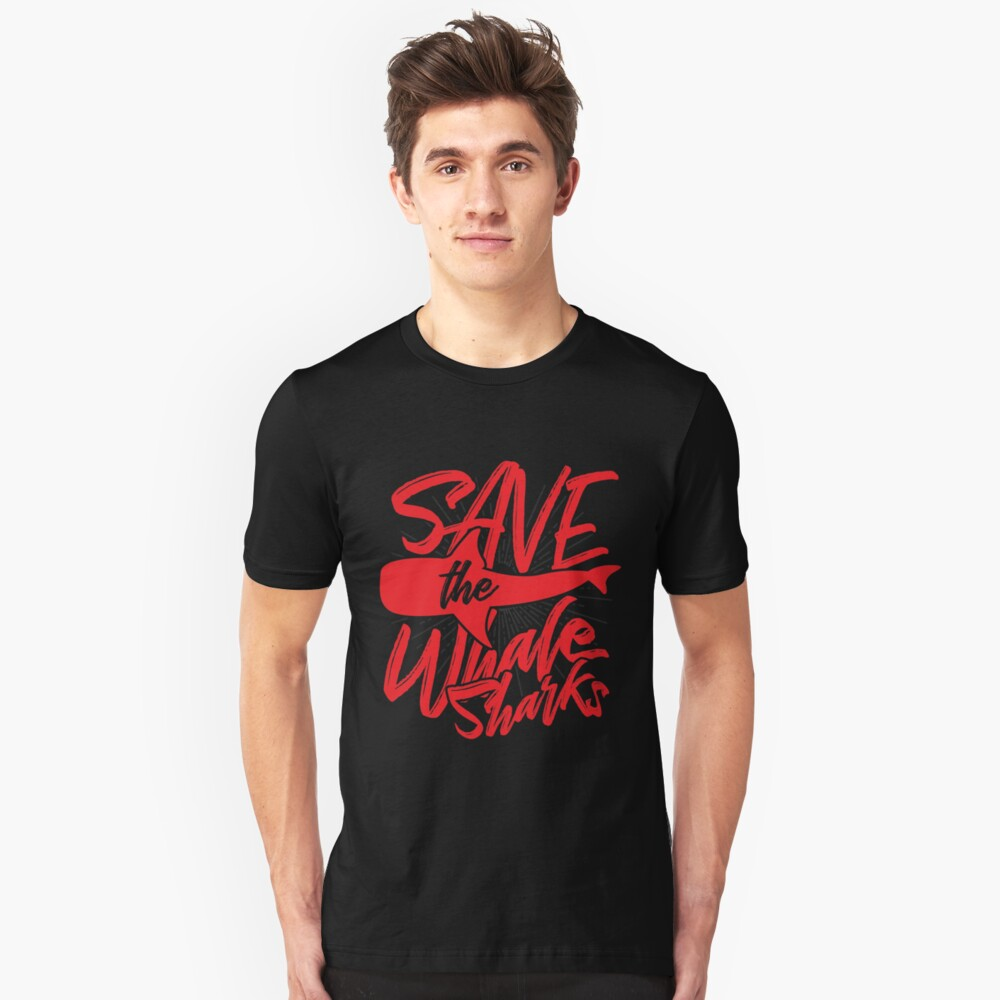Whale shark welfare Unisex T-Shirt Front