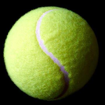 Tennis Ball by adrianbrockwell