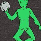Green Man Charlie Kelly by Wii Mi