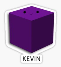 Kevin the Cube Sticker