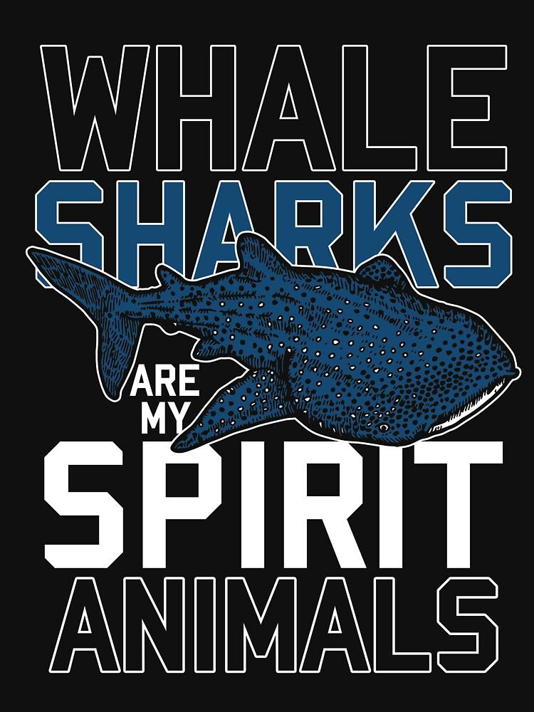 Whale shark Spiritual animal by GeschenkIdee