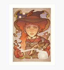 HERB WITCH Art Print