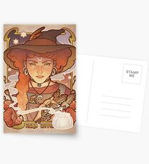 HERB WITCH Postcards