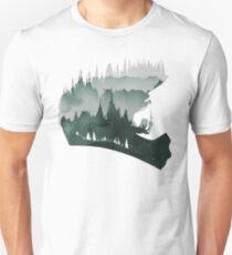 MTB landscape Unisex T-Shirt