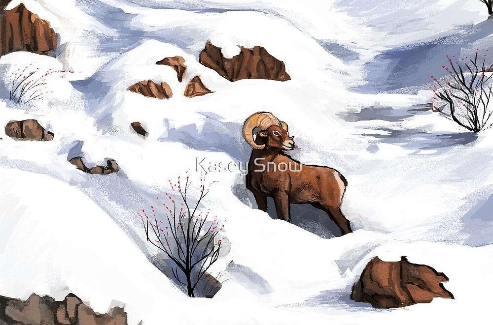 Bighorn Sheep : Christmas 2018 by Kasey Snow