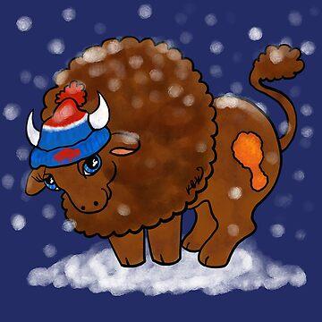 My Little Buffalo by katkuo