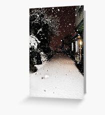 Pure Snowfall Greeting Card