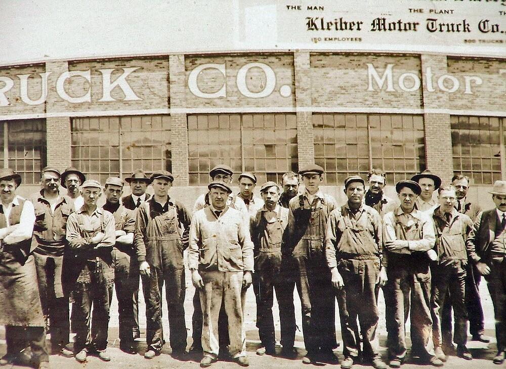 Kleiber Truck Factory, San Francisco, 1915 by Edward Henzi