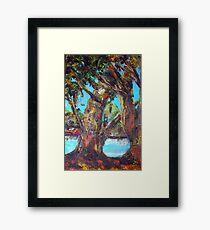 original oil painting  Framed Print