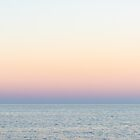 Abstract sunrise over water 1 by zinchik