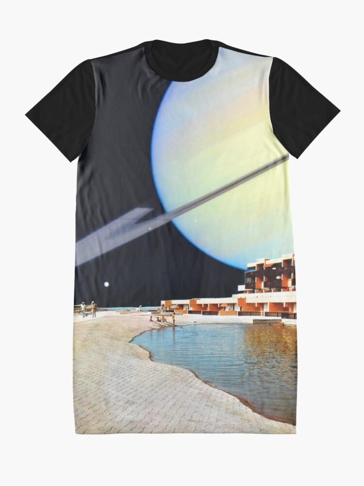 Alternate view of Daydream Graphic T-Shirt Dress