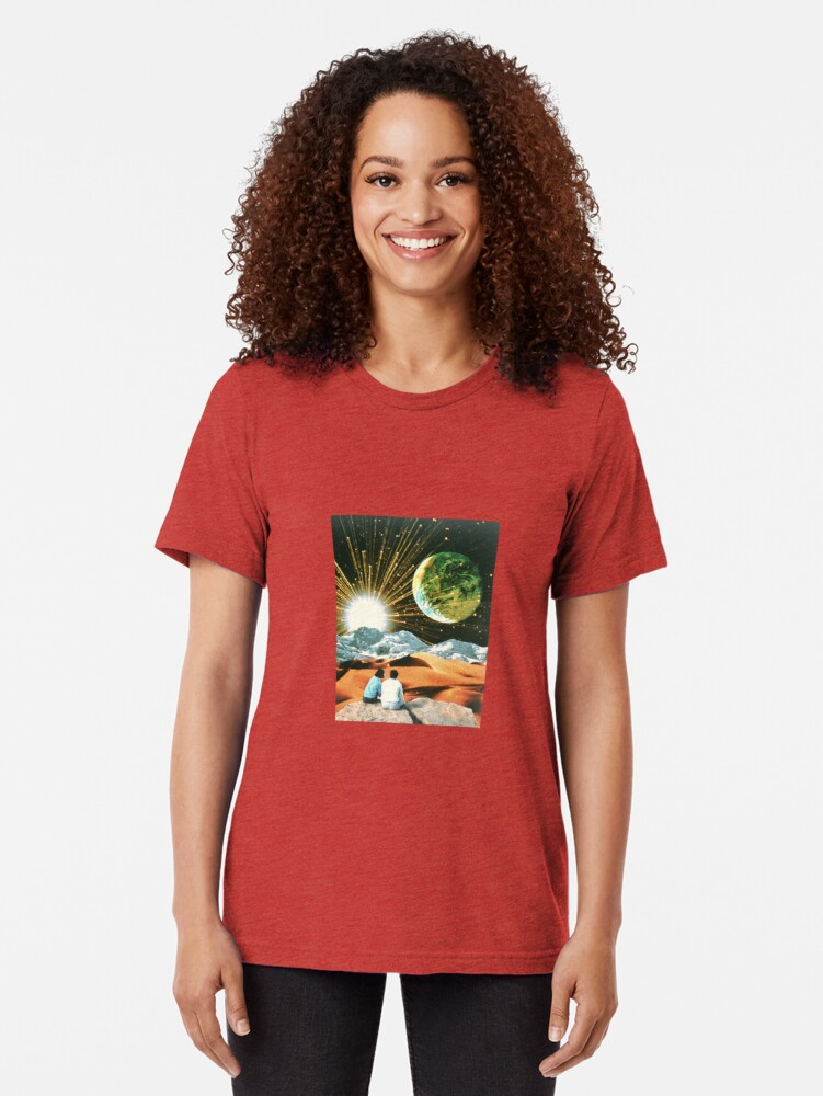 Alternate view of Another Earth Tri-blend T-Shirt