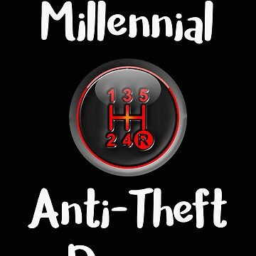 Millenial Anti Theft Device Manual Transmission Gear Shift by stacyanne324