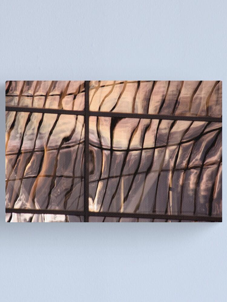 Alternate view of Silken Glass Canvas Print