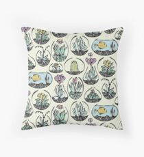 glass bowls of joy Throw Pillow