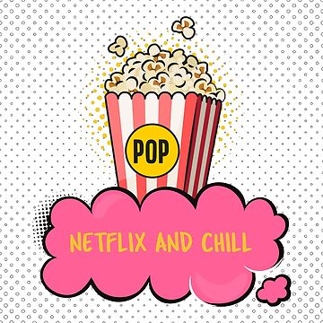"""Netflix And Chill"" serial junkie by Kaiser-Designs"