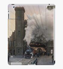 Boston and Maine Railroad depot, Salem ca 1910 iPad Case/Skin
