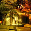 Forecourt Fountain by Dale Lockridge