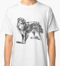 Border Collie - Happy Classic T-Shirt
