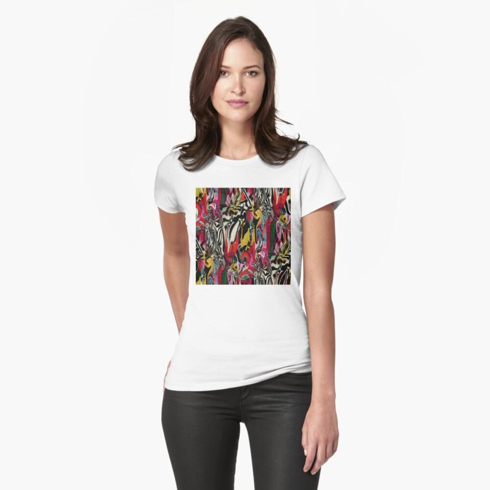 Zebra Dream Fitted T-Shirt