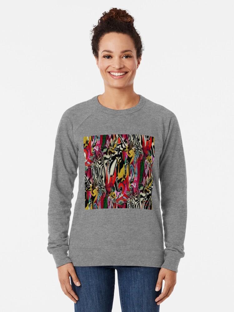 Alternate view of Zebra Dream Lightweight Sweatshirt
