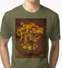 Dhalsim 25 Tri-blend T-Shirt