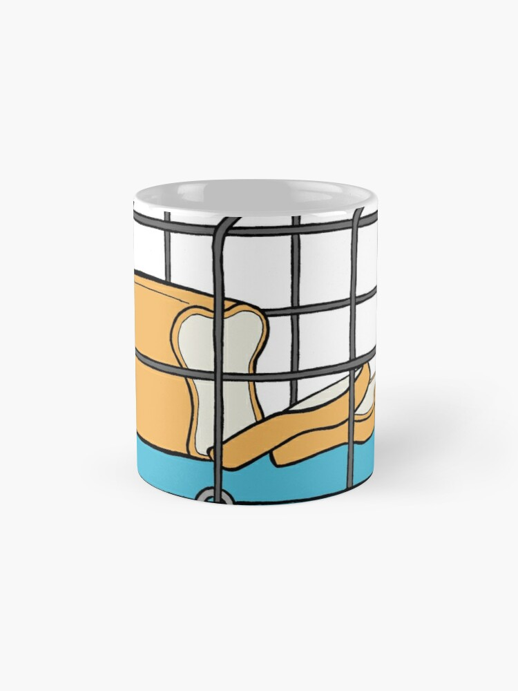 Alternate view of Bread in Captivity Mug