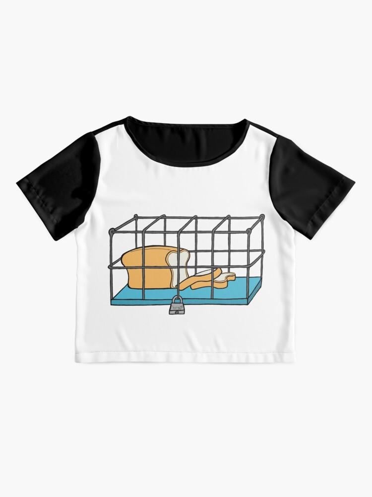 Alternate view of Bread in Captivity Chiffon Top
