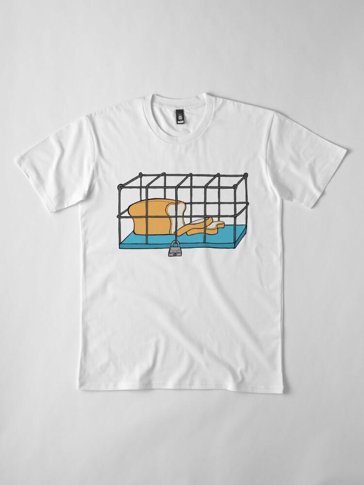 Alternate view of Bread in Captivity Premium T-Shirt