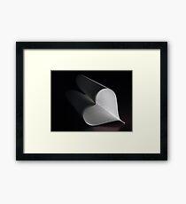 plainly ~ i love you Framed Print
