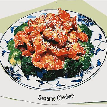 Sesame Chicken. by Claudiocmb