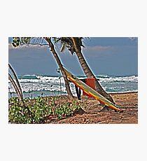 Surfboard Photographic Print