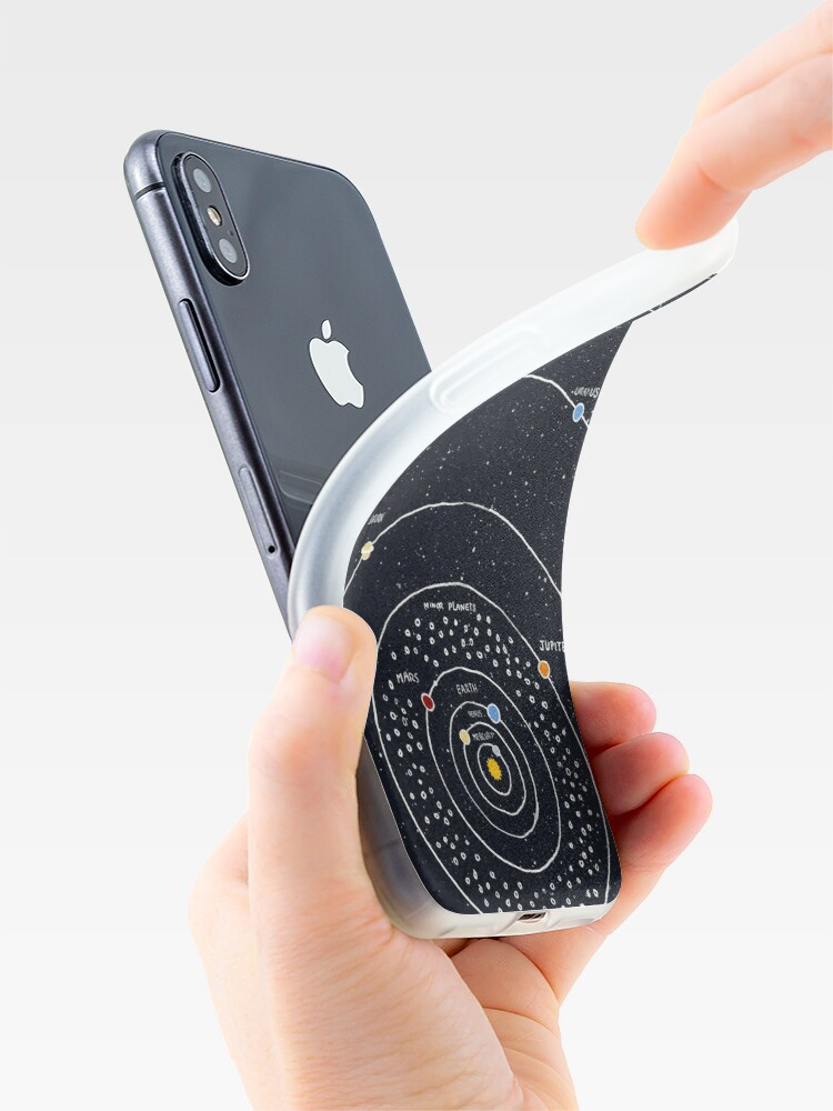Alternate view of Solar System iPhone Case & Cover