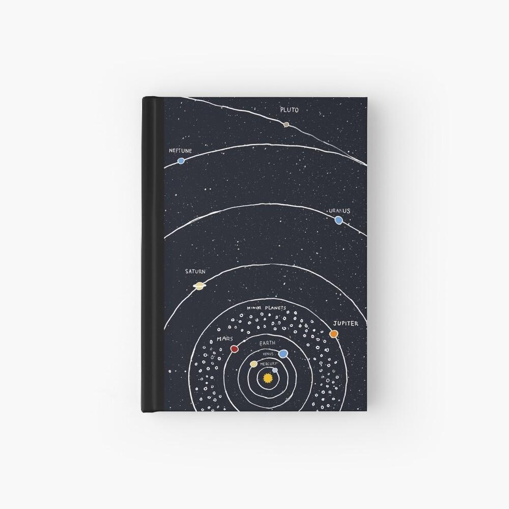 Solar System Hardcover Journal