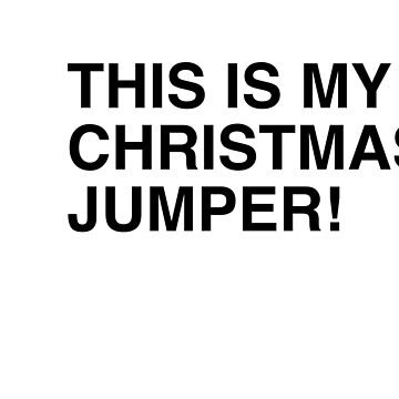 CHRISTMAS JUMPER  by Rock-it