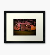 Port Dalhousie Barn Framed Print