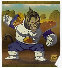 Ozaru Vegeta Poster