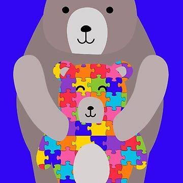 autism mama bear  by gossiprag