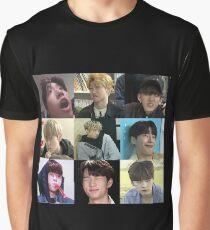 STRAY KIDS MEME Grafik T-Shirt