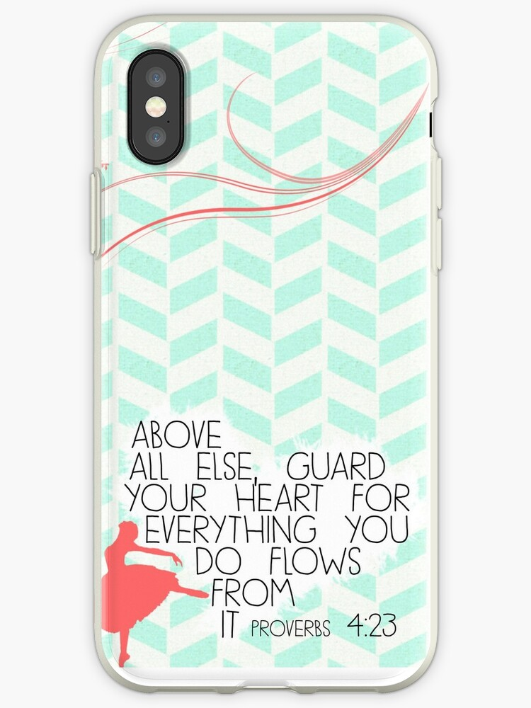 Above All Else Proverbs 423 Iphone Cases Covers By Caylie