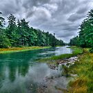 Serenity Before Storm - Maine by JHRphotoART