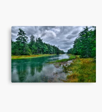 Serenity Before Storm - Maine Canvas Print