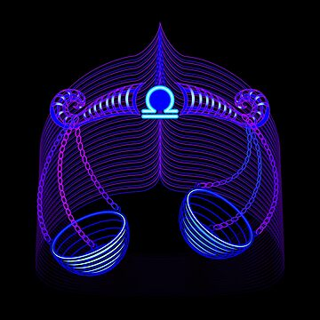 Libra Neon by DisobeyTees